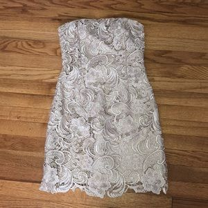 Adrianna Papell Love strapless dress